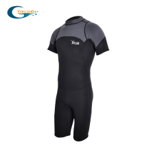 YONSUB 3MM Neoprene Wetsuit Men Scuba Diving Suit One-piece and Close Body Dive Surfing Swimsuit Short Sleeve Triathlon