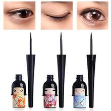 Waterproof Liquid Eye Liner Pencil Lucky Doll Black Creative Eyeliner Quick Drying No Blooming Long-lasting Eyes Liner TSLM1