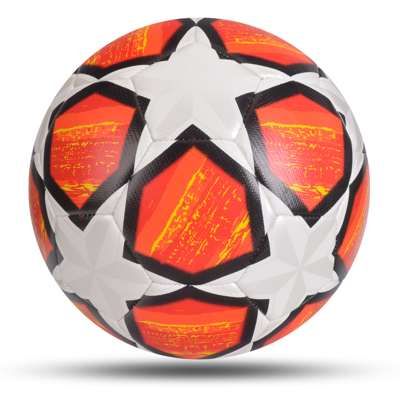 2020 Newest Match Soccer Ball Standard Size 5 Football Ball PU Material High Quality Sports League Training Balls Futbol Futebol