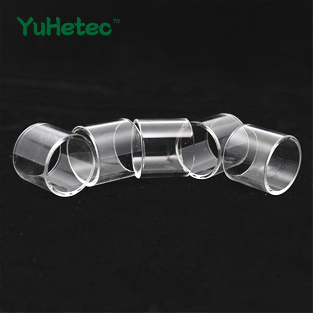 5PCS YUHETEC Replacement Glass Tank For VAPTIO SOLO 2
