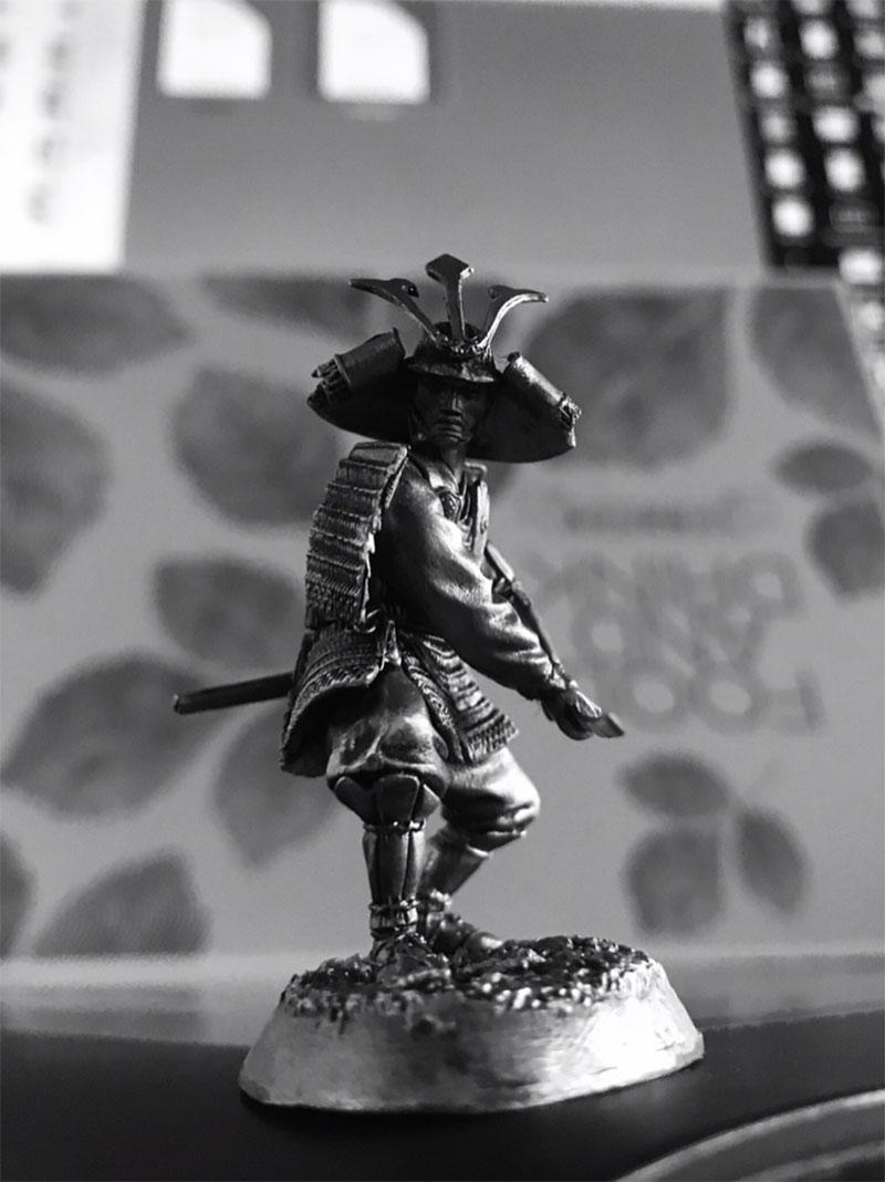 54 mm Samurai warriors Set 5-3 figures #SAM 5405 1:32 Tin Soldier Set