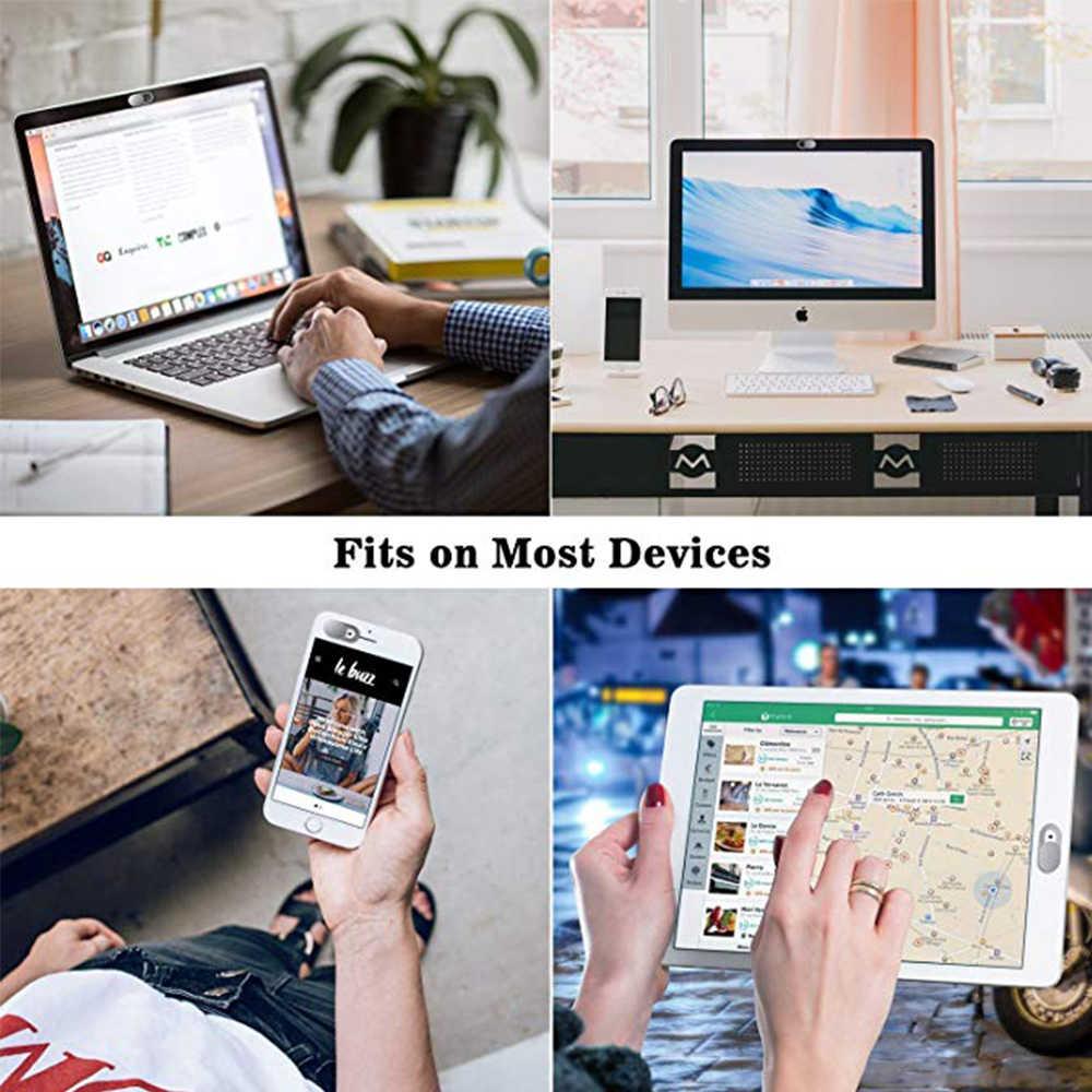 Webcam kapak Ultra ince dizüstü kamera kapağı slayt bilgisayar Macbook Pro/hava iMac iPhone cep telefonu Tablet kamera engelleyici