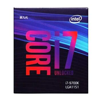 Intel Core i7-9700K Desktop Processor 8 Cores up to 4.9 GHz Turbo unlocked LGA1151 300 Series 95W Desktop Cpu