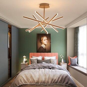 Nordic modern LED chandelier ceiling living room aluminum alloy lighting kitchen lamp living room chandelier bedroom chandelier 1