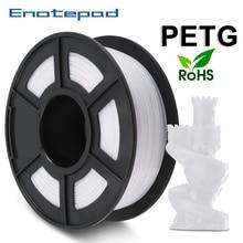 Enotepad PETG Filament Tolerance 0 02mm 1 75mm 1kg 2 2lbs 3D Printer Filament Spool NEW