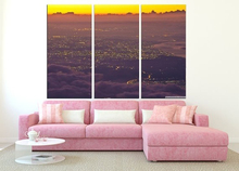Modern Colorful Photo Picture beautiful sunset Room Decor Cities Canvas Art Painting Living Bedroom