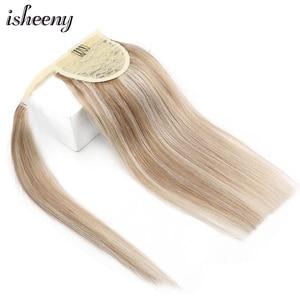 Isheeny Ponytail Remy Human Hair 14