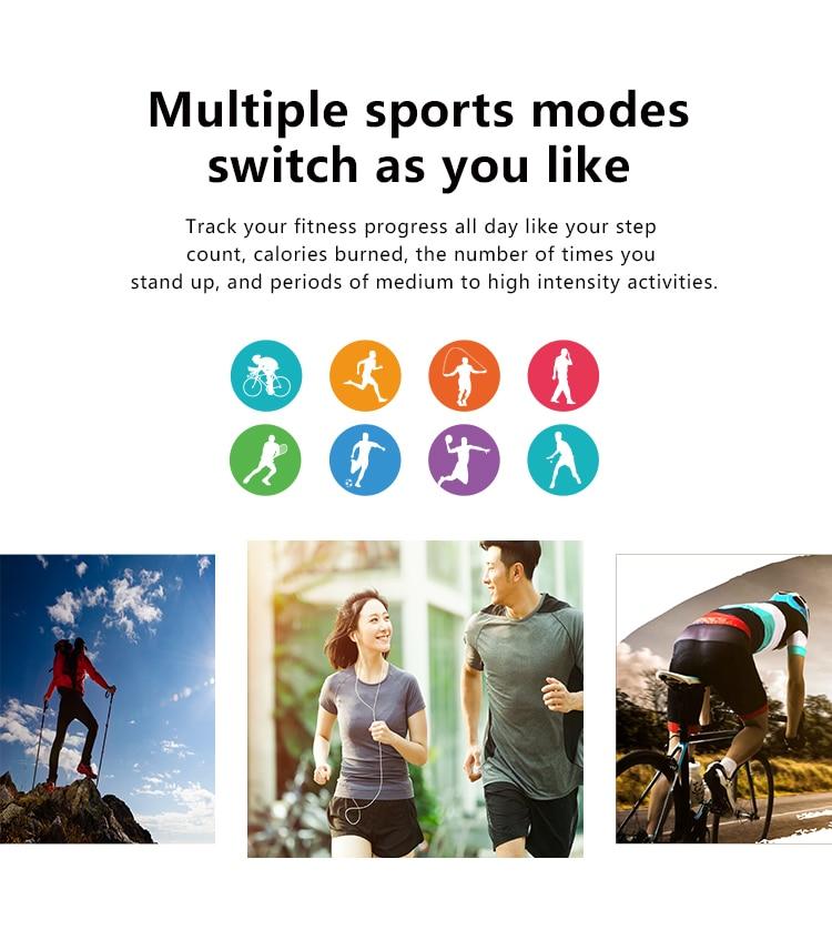 Hc98c1e2b5dbc4de3bd077140b095796bP MT3 Smart Watch Men Women Music Play 8G Memory Bluetooth Call Heart Rate Fitness Health Tracker Sport Waterproof Smartwatch