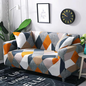 Stretch Slipcover Sectional Elastic Stretch Sofa Cover for Living Room Couch Cover L Shape Corner Armchair Cover 1/2/3/4 Seater
