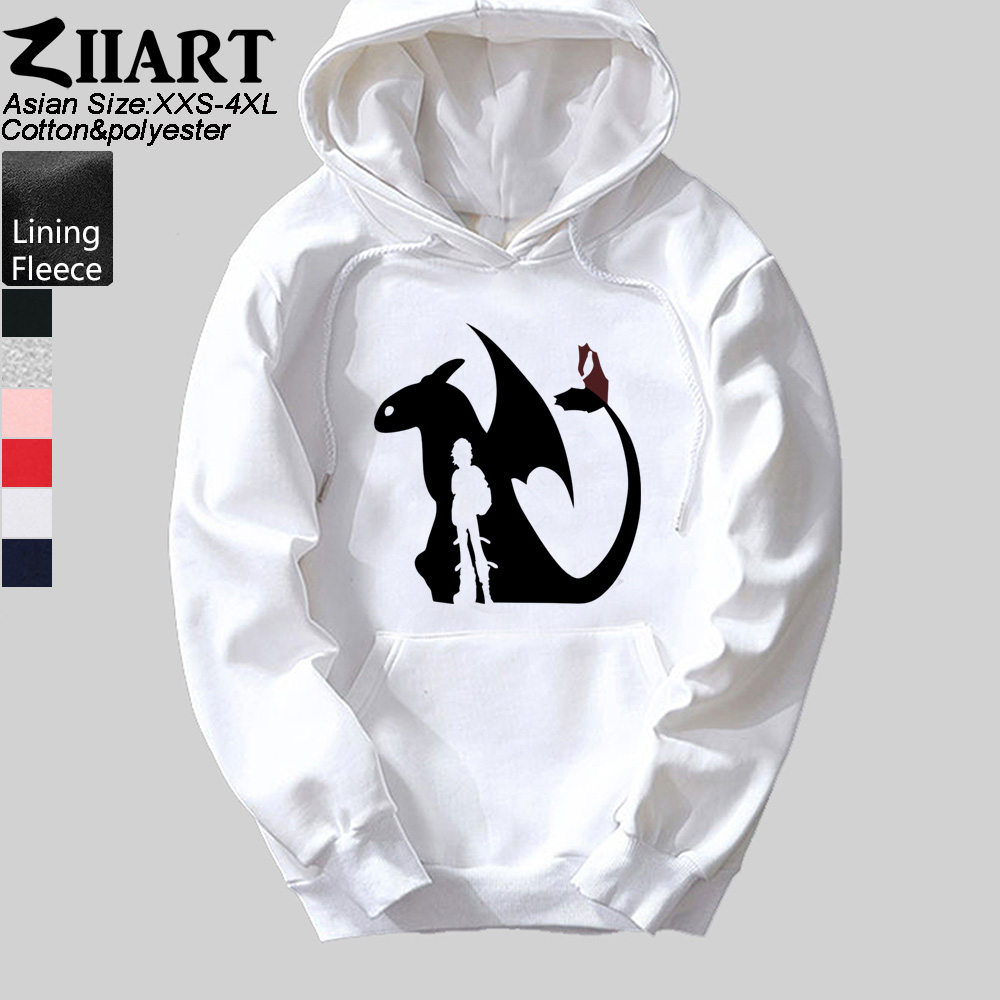 Couples Night Light Fury How to Train Your Dragon 3D All Over Printing Shirt Hoodie Black, Men M + Women L