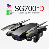 SG700 D quadcopter light flow gesture camera video follow 2K camera long battery life RC Drone 2K HD Camera Drone High Hold