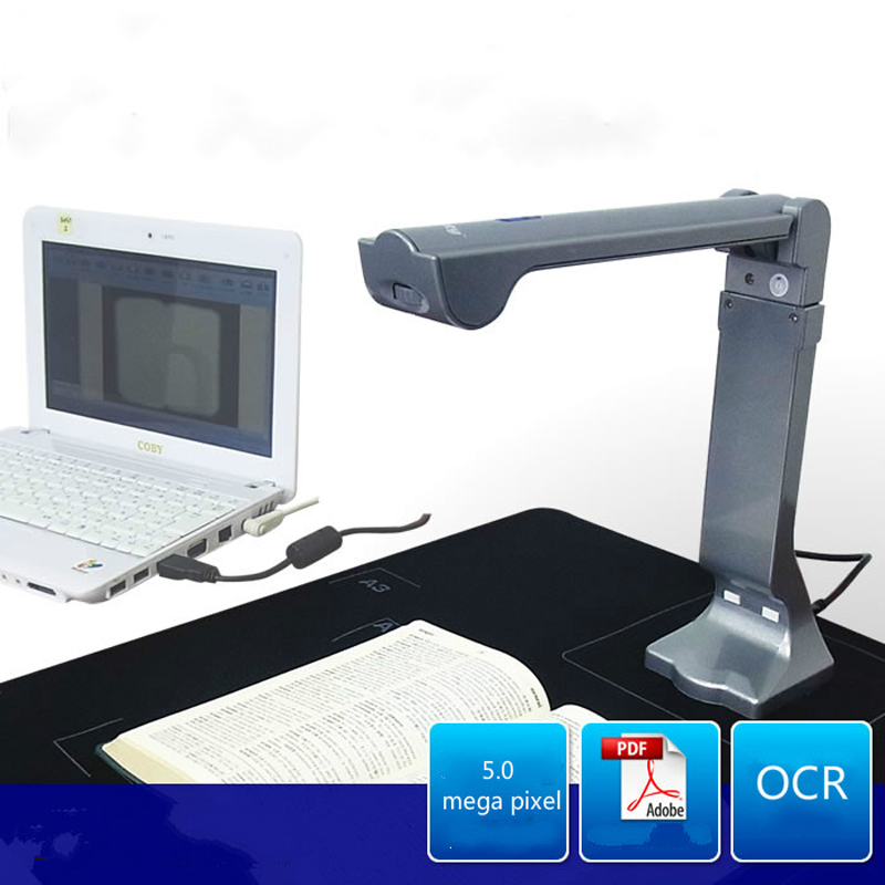 Самый маленький сканер A3 HD 1080P 5,0 мегапиксельная цветная CMOS A4 B5 для домашнего мобильного офиса и школы, электронные принадлежности, мини порт