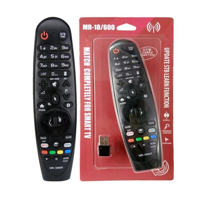 新しいMR 18/600 ユニバーサルスマートマジックリモコンfof lgテレビ 55SJ8000 60SJ8000 65SJ8000 55SJ8500 65SJ8500 55UJ6520 、 65UJ6520