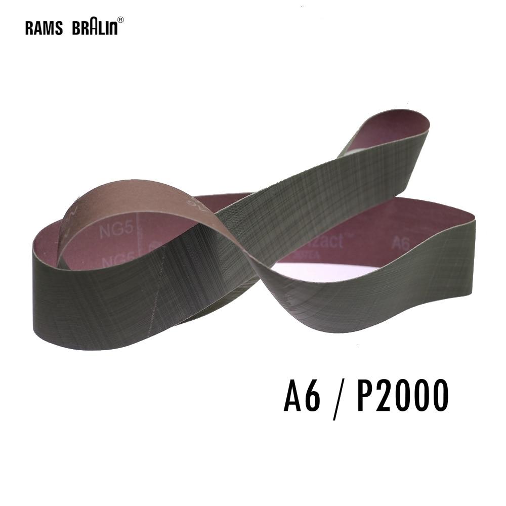 3M Trizact Cloth Belt 237AA Medium To Super Fine Sanding Band