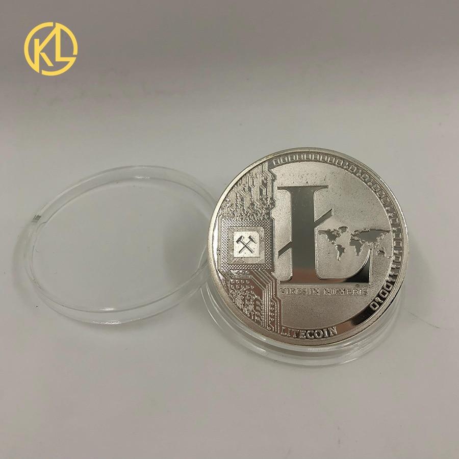 Золотой/посеребренный эфириум монета Биткоин памятная монета художественная коллекция подарок физическая имитация из металла вечерние украшения для дома - Цвет: Розовый