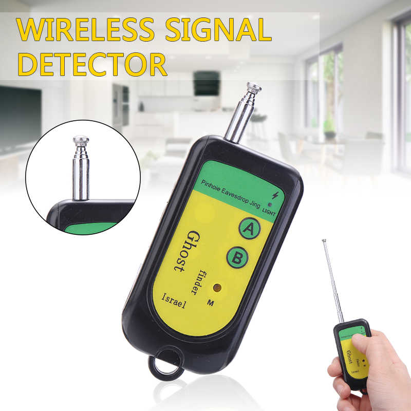 Wireless Camera Lens Signal Detector Mobile Phone Signal Detection Device Handheld Detector Finder GPS Signal Lens RF Tracker