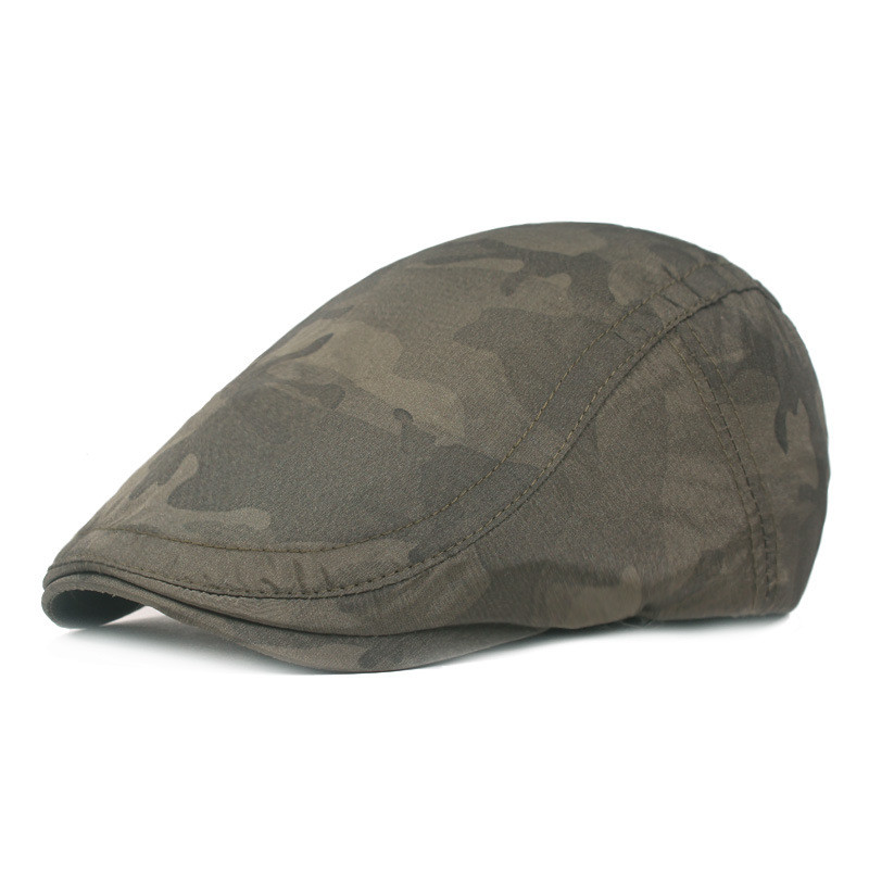 Мужская и женская хлопковая камуфляжная шляпа для гольфа, для вождения, кепка, плоская кепка, повседневная Кепка Утконос, шапка для вождения, 10,7 - Цвет: AG