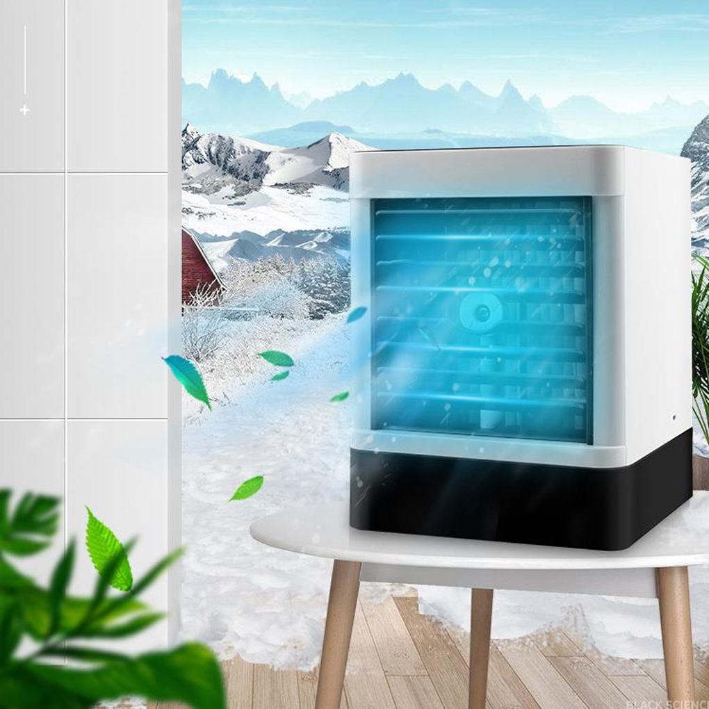 Mini Air Cooler Refrigeration Humidification Air Purification USB Fan Portable Water Cooling Fan Car Small Air Conditioner
