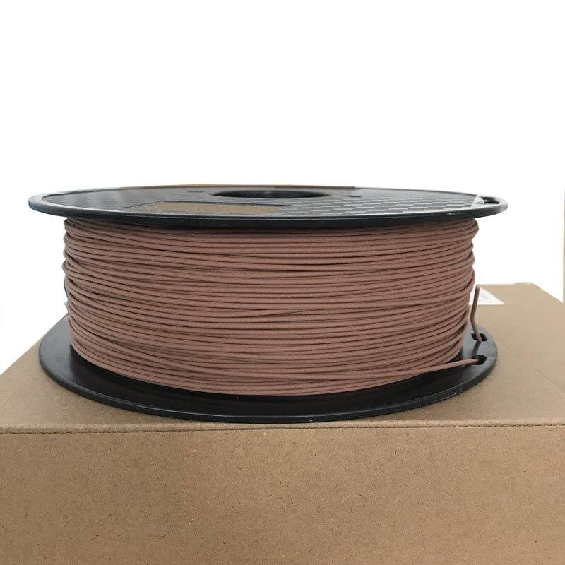 mogno cor 3d materiais de impressão fornecer pla dropshipping