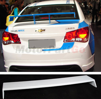 UNPAINTED  New Style Trunk Lip Spoiler Fit For Chevy Cruze  WTCC 2009 UP  T025 1