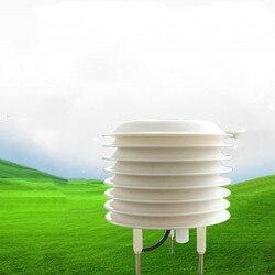 Instrumento de la estación meteorológica refugio de temperatura de ruido y humedad PM2.5pm10 Sensor de presión atmosférica transmisor de iluminación