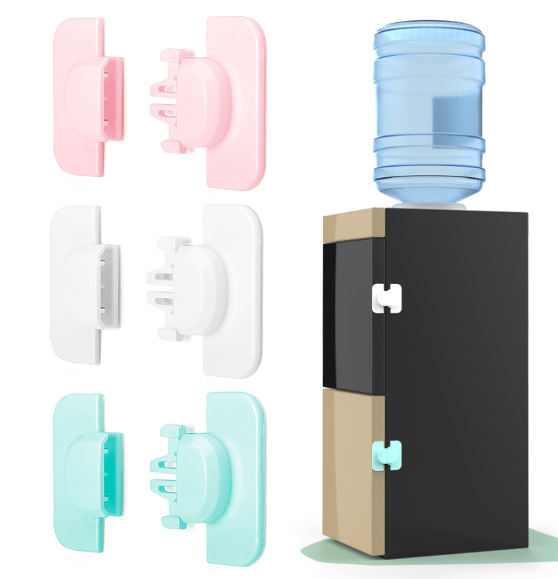 1PC Refrigerator Fridge Freezer Door Lock Latch Catch Toddler Kids Child Cabinet Locks Multi-function Baby Safety Child Lock