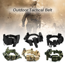 Bargain Lixada Outdoor Police Security Military Belt Tactical Hunting Gun Belt Law Enforcement Belt Equipment With Pouches Holster Gear wholesale