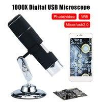 Wifi profissional durável microscópio eletrônico portátil microscópio wi fi microscópio digital fotos telefones celulares à prova dwaterproof água|Microscópios| |  -