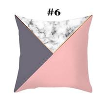 Polyester Cover Bohemian Geometric Pillow Case Decorative 45cm*45cm