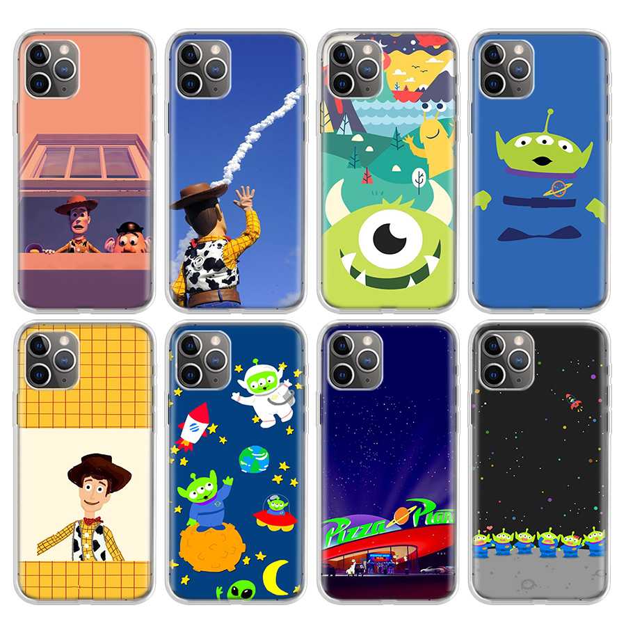 <font><b>Toy</b></font> <font><b>Story</b></font> Pizza Planet Phone Case For Apple <font><b>iphone</b></font> 11 Pro 7 7G 8 8G 6S <font><b>6</b></font> 6G X Xr Xs Max Plus + 5G 5S SE Hot Cover Coque <font><b>Capa</b></font> image