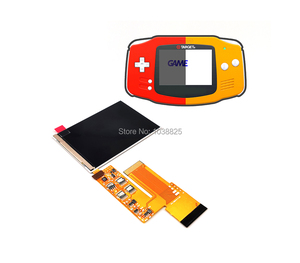 Image 2 - LCD V2 Screen Replacement Kits for Nintend GBA backlight lcd screen 10 Levels High Brightness IPS LCD V2 Screen For GBA Console