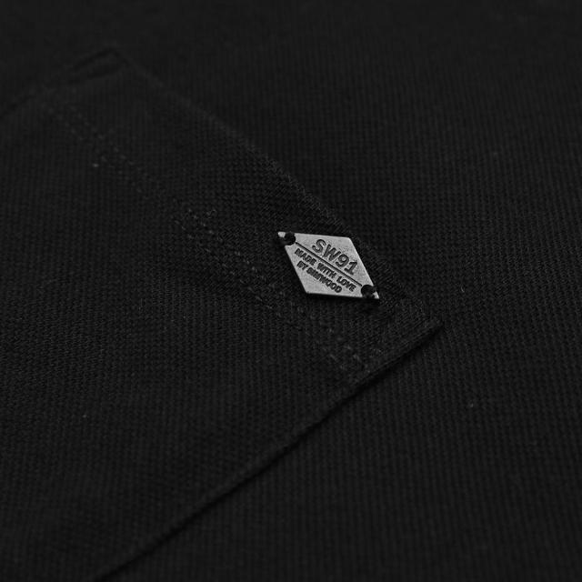 Breathable Polo shirt with chest pocket