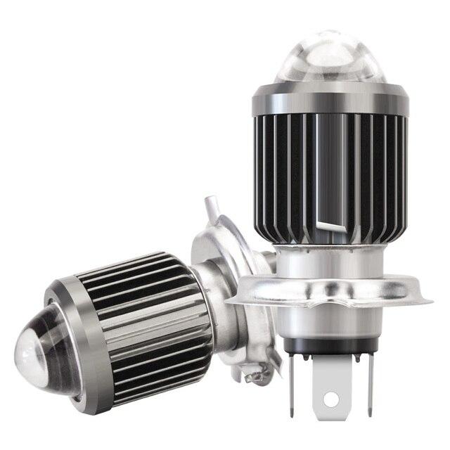 Motorcycle Headlight LED H4 H6/BA20D Led Bulb Moto 6000LM Hi-Lo Beam Lamp Scooter Accessories 12V 24V llightings 2