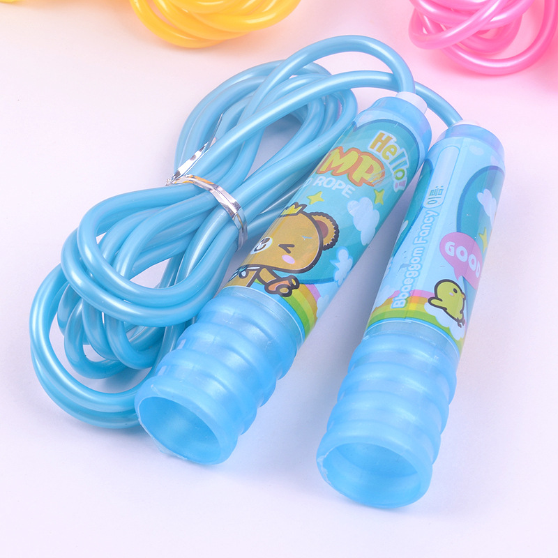 Non-Cartoon Fitness Jump Rope Children Regulation Young STUDENT'S Sports Game Beginners Kids Plastic