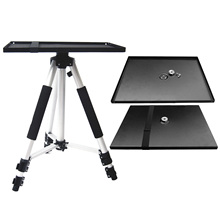 Besegad 34x24cm Universal Metal Tray Stand Platen Platform Holder for 3/8inch Tripod Projectors Monitors Laptops Stand Mount