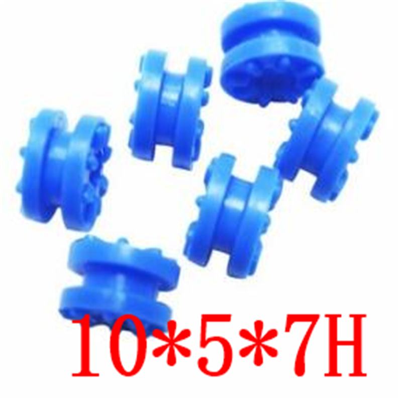 10*5*7H Computer Hard Disk Shock Absorber Pad Silicone Hard Disk Shock Absorber Insulation Board Buffer Rubber Pad
