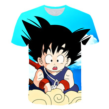 Dragon Ball Ultra Instinct Super Saiyan T-shirt Men Summer Z tshirts Funny Anime Stranger Things Kid Goku 3d t shirt