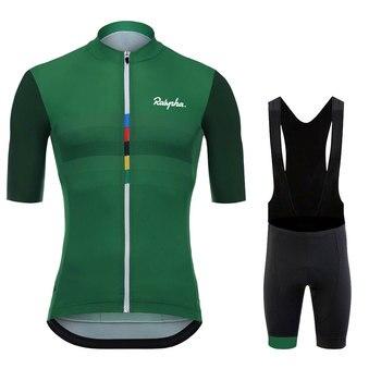Raphaful-Camiseta de Ciclismo profesional para hombre, Maillot de manga corta con Ciclismo...