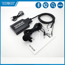 Yatour Auto Audio Bluetooth Kit für VW Jetta Passat Tiguan Audi A3 A4 Skoda Sitz Altea Digital CD wechsler AUX adapter YTBTK