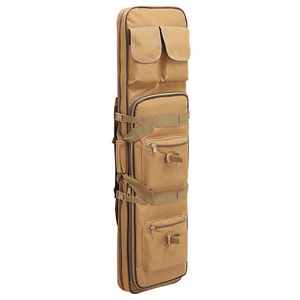 Image 2 - 85 96 120cm Nylon Gun Bag Case Rifle bag Backpack for Sniper Carbine Airsoft Holster Shooting Portable Bags Hunting Accessories
