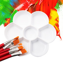 Plastic Palette Painting Pallet Watercolour Art-Paint for Oil Student Stationery Drawing