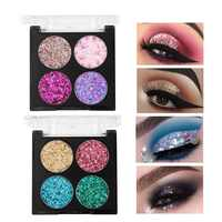 Make-up Schönheit Glasierte Glitter Lidschatten Make-Up Pallete Matte Lidschatten Palette Wasserdicht Professionelle Nude Lidschatten Make Up