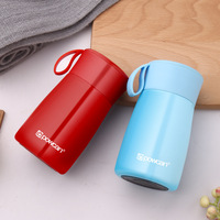 Mini Cute Student Double Wall Stainless Steel Vacuum Flasks 260ml Thermos Cup Travel Coffee Mug Thermo Bottle Gifts Thermocup
