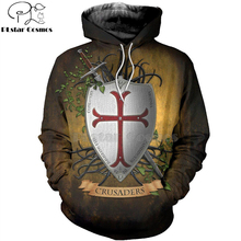 PLstar Cosmos All Over Printed Knights Templar 3d hoodies/Sweatshirt Winter autumn funny Harajuku Long sleeve streetwear-37