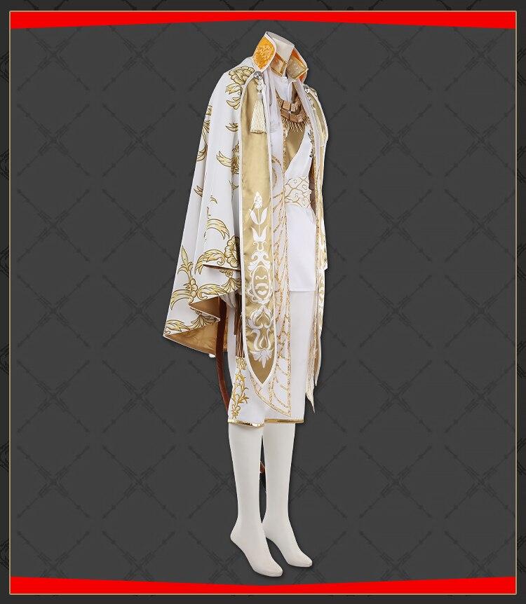 Jogo twisted-wonderland savanaclaw leona uniforme cosplay traje