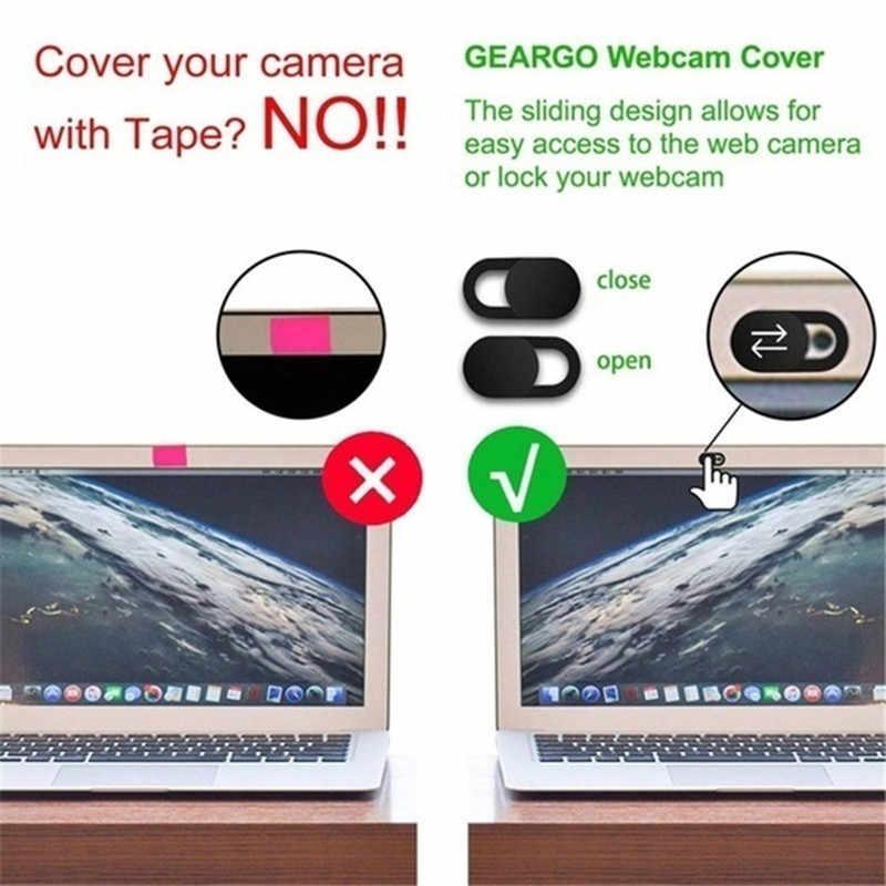 ウェブカメラカバー Macbook Air iphone アプリ 2019 ノートパソコンの電話カメラカバー Web カムカバーマグネットスライダーブロッカープライバシースライダー lents