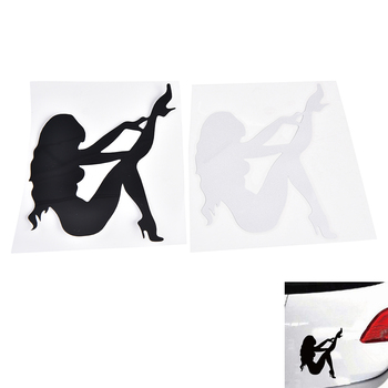 1PC Sexy Girls Car Sticker Angel Devil Beauty Super Cool Car styling Cute Motorcycles Sticker Decal image