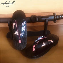 Whoholl geta женские шлепанцы летние тапочки домашние японские