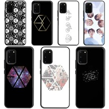 Чехол EXO band k-pop kpop для Samsung Note 20 Ultra Note 10 Plus, чехол для Galaxy S20 Plus S10 e S8 S9