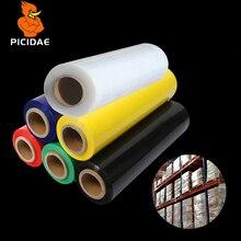 PE стретч-пленка упаковочная промышленная пластиковая свежая KeepTransparent perimbrane липкая проволока рисунок антистатические товары лоток